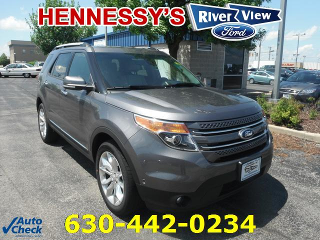New Ford Explorer Limited