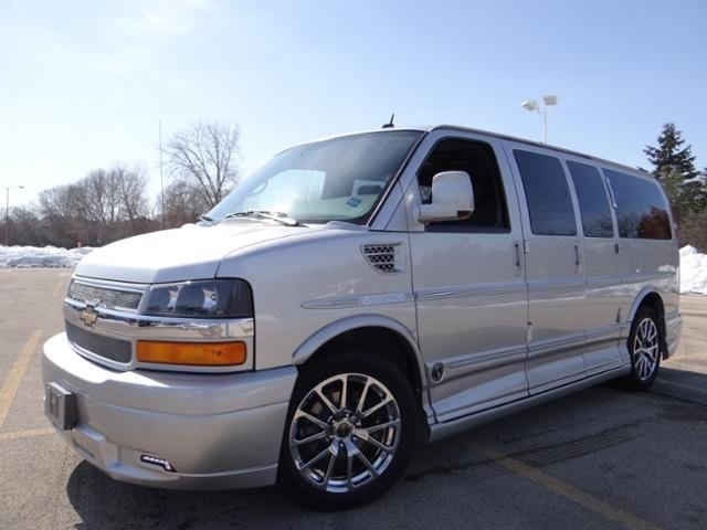 New Chevrolet Express Cargo Van Upfitter