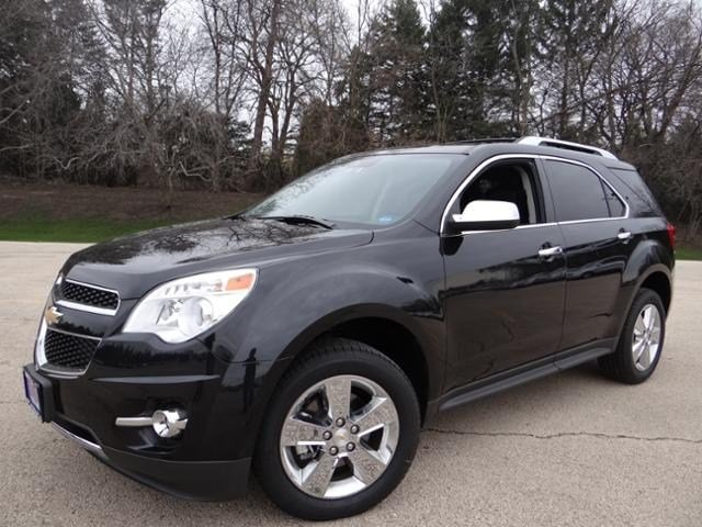 New Chevrolet Equinox LTZ