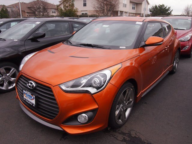 New Hyundai Veloster Turbo w/Black Int