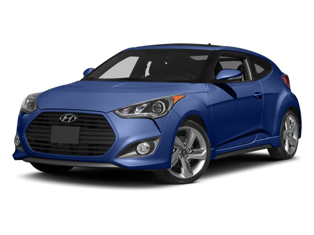 New Hyundai Veloster Turbo w/Blue Int